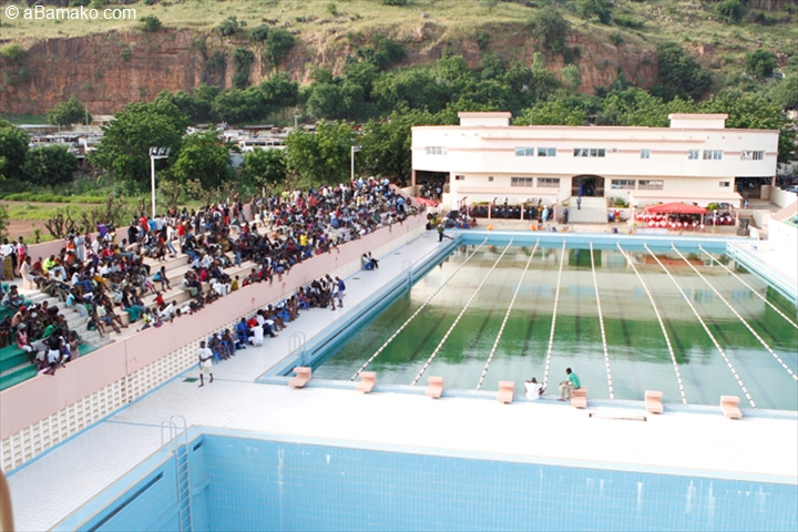 Inauguration De La Piscine Olympique Du Stade Omnisport Modibo Keita