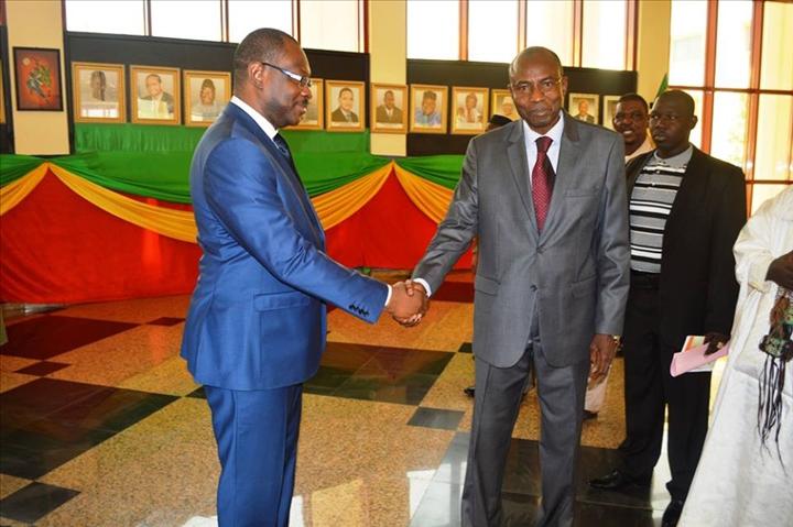 Cabinet du premier ministre mahamadou magassouba succ de - Cabinet du ministre de l interieur ...