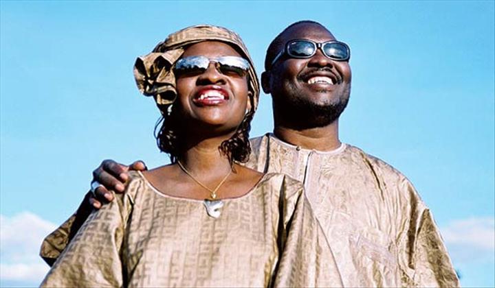 """Amadou et Mariam, couple aveugle chanteur du Mali : """"Voici"""