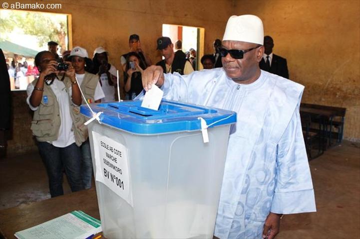 Législative 2013: le président ibrahim boubacar keita accomplit son